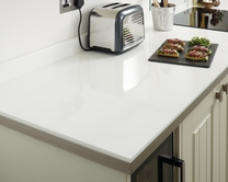 Square edged laminate 38mm worktops