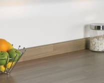 Grey Oak Block Effect upstand