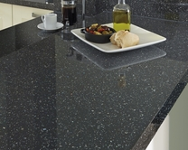 Grey Mirror Chip worktop