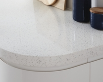 White Mirror Chip worktop