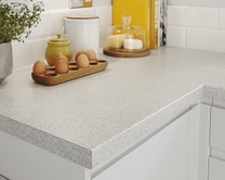 Bullnose smooth laminate 38mm worktops