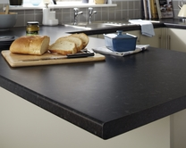 Black Granite Effect worktop