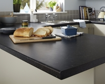 Bullnose matt laminate 38mm worktops - 600mm deep