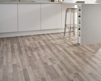 3 Strip Grey Oak laminate flooring