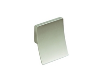 Brushed Steel Effect square pull knob
