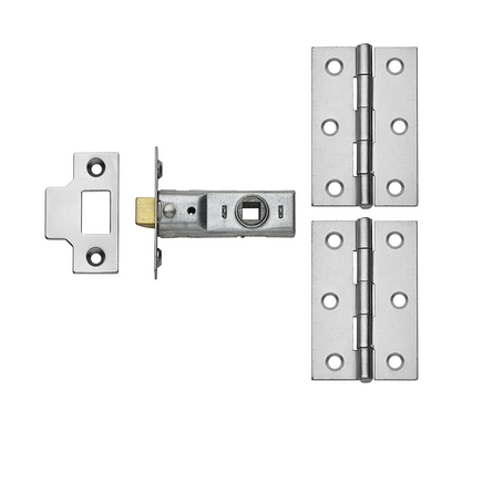 Chrome Latch Pack (no handle)