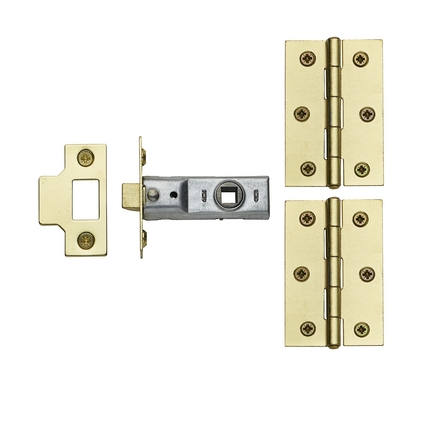 Brass Latch Pack (no handle)