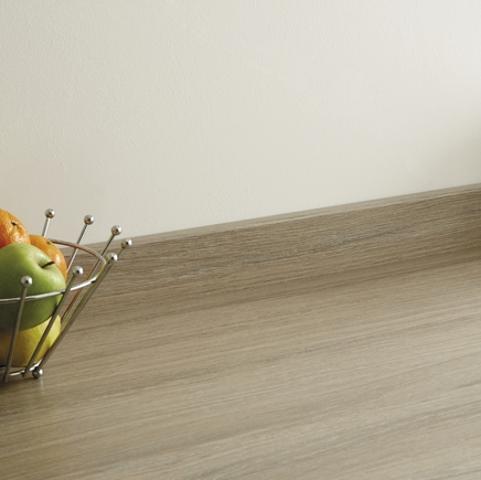 Grey Oak Effect upstand