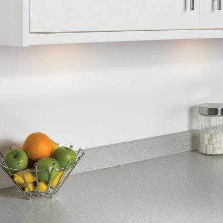 White Bullnose Laminate Mm Kitchen Worktop