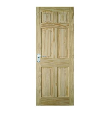 6 Panel Clear Pine door