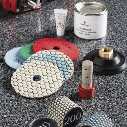 Granite worktop tools & accessories
