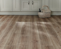 Professional Click Fit Oak vinyl flooring