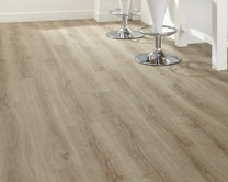 Professional Click Fit Light Oak vinyl flooring