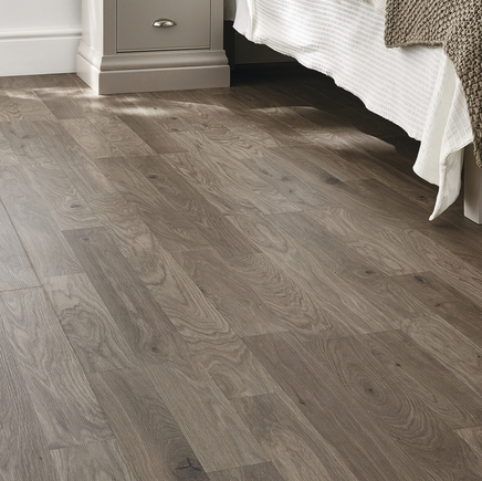 Professional Dark Grey Oak Laminate Flooring Howdens Joinery