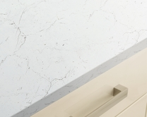 White/Grey Marble Effect worktop