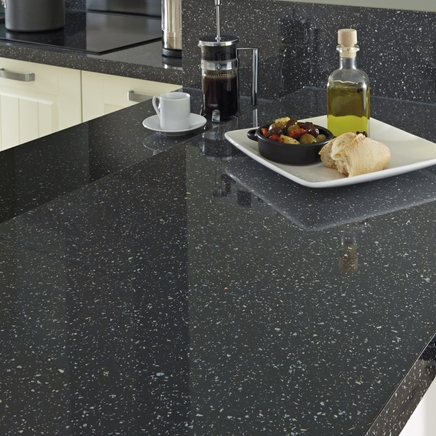 Square Edged Kitchen Worktops Uk