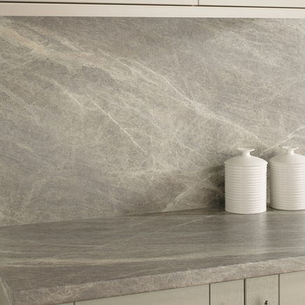 Grey Slate Worktop Large Scale Print Kitchen Worktops