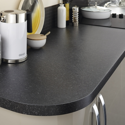 Square Edged Laminate Blackstone Worktop Howdens Joinery