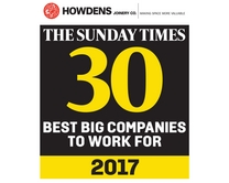 Sunday Times 30 Best Big Companies