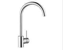 Lamona Chrome Alvo swan neck single lever tap