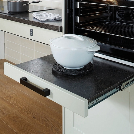 Pull-out worktop runners