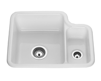 Lamona ceramic 1.5 bowl undermount sink
