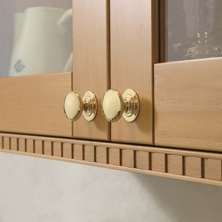 Brass Effect knob handle