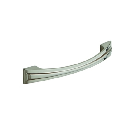 Brushed Nickel Effect classic D handle