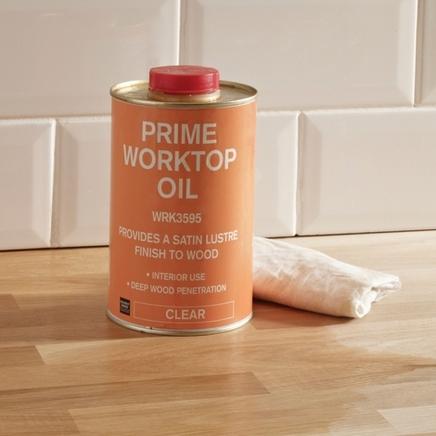 Prime worktop oil