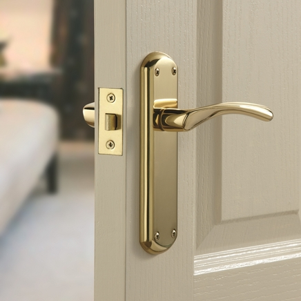Garda Brass Door Handle Howdens Joinery