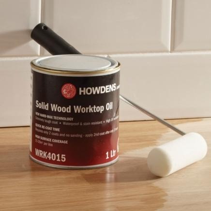 Worktop wax oil