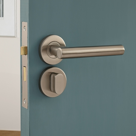 Lecco Satin Stainless Steel Rose Door Handle Howdens Joinery & Exciting Howdens Doors Handles Images - Exterior ideas 3D - gaml.us ...