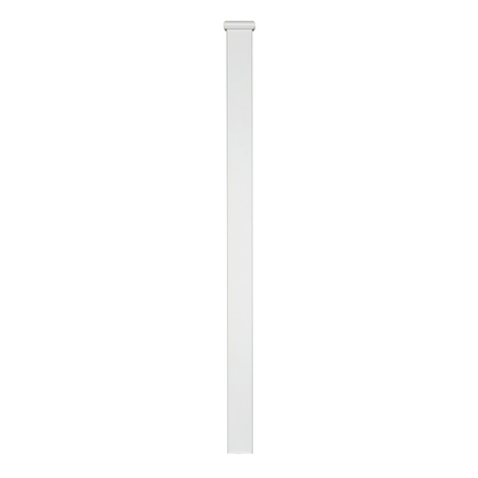 Primed Square newel post with cap