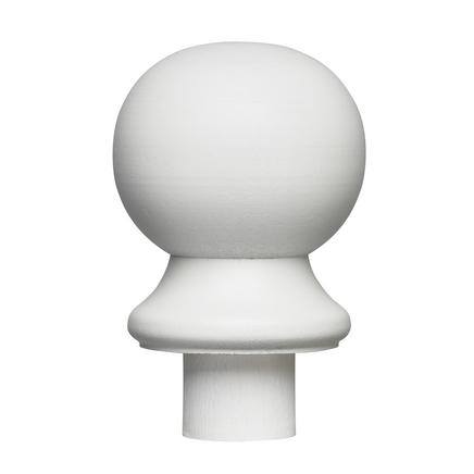 Primed ball newel cap