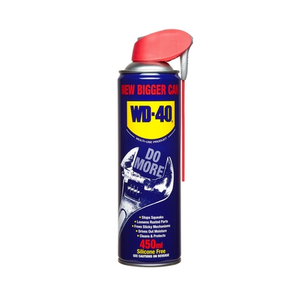 WD40 with smartstraw