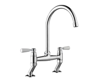 Lamona Chrome Victorian bridge tap