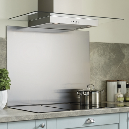 Stainless Steel Splashbacks Kitchen Worktop Splashbacks