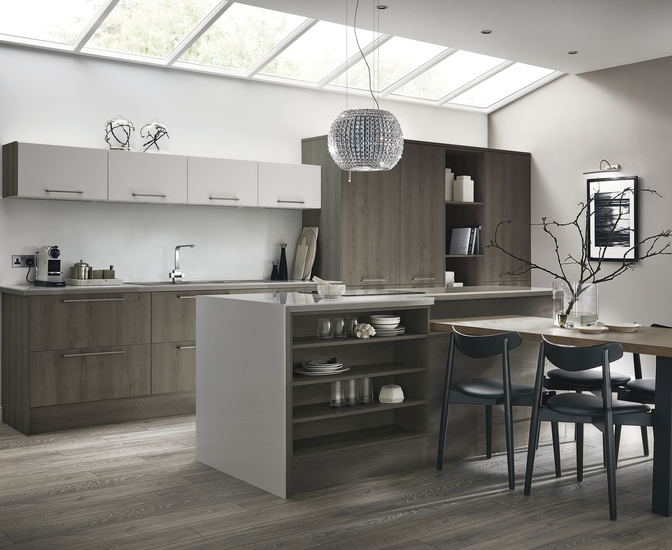 Etonnant Greenwich Dark Grey Oak