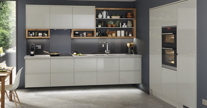 Grey Kitchens Fitted Kitchens Howdens Joinery