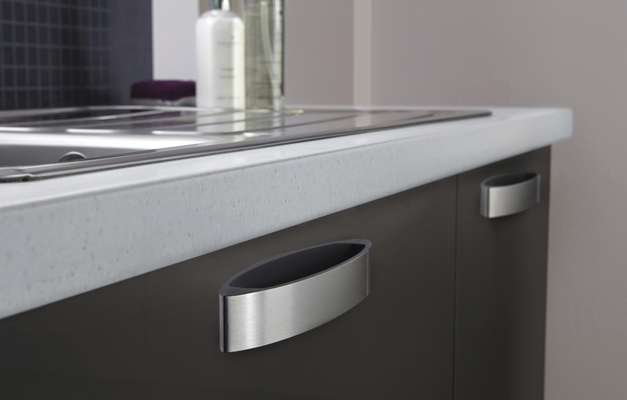 Greenwich Gloss Graphite Kitchen Universal Kitchens