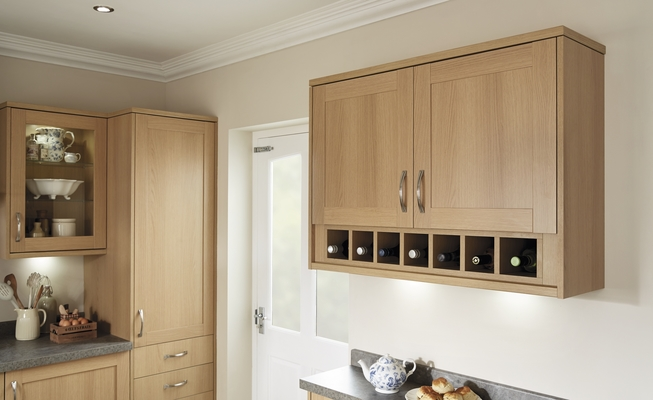 Greenwich Shaker Light Oak Kitchen Shaker Kitchens
