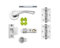 Sofia Chrome quick fit rose latch pack