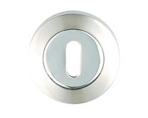 Polished/Satin Chrome round