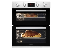 Lamona built-under double fan oven
