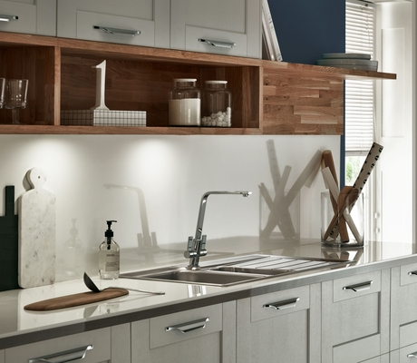 Kitchen Ideas Howdens fairford dove grey kitchen | shaker kitchens | howdens joinery