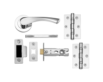 Sofia Chrome Rose latch pack