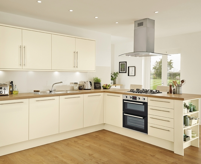 Stockbridge Super Matt Cream Kitchen Range Universal