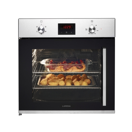 Lamona side opening single fan oven