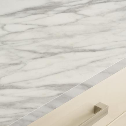 White Marble Effect worktop