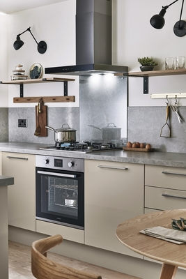 Glendevon Gloss Cashmere Kitchen Universal Kitchens